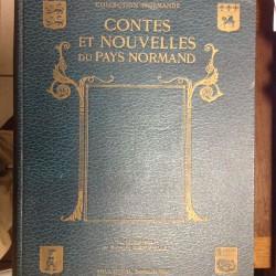 Livre ancien 1933 Contes et nouvelles du pays normand antiquité