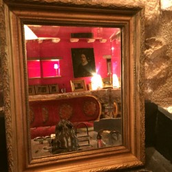 petit miroir ancien