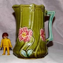 Céramique ancien pichet FIVES DE LILLE nord carafe vintage art nouveau