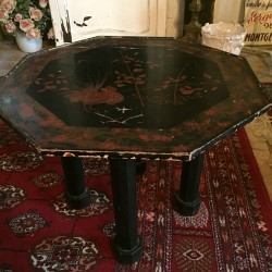 table basse esprit chinois