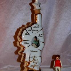 Bouteille Alcool Porcelaine Napoleon Corse BONAPARTE VINTAGE