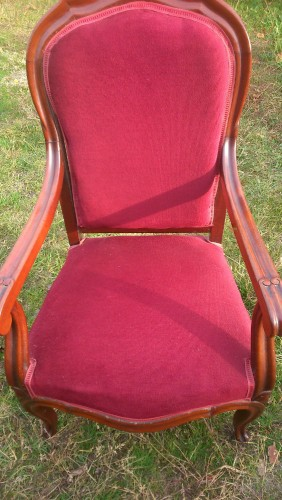 fauteuil voltaire brocante en ligne. Black Bedroom Furniture Sets. Home Design Ideas
