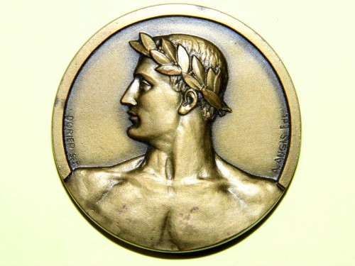 Medaille bronze signé DORIER AUGIS NORD MATIN