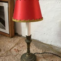 Lampe à poser ancienne bronze