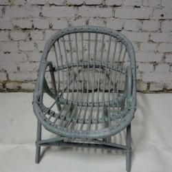 fauteuil rotin pour enfant - vintage