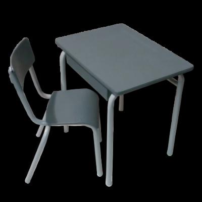 ancien petit bureau d 39 colier avec sa chaise assortie. Black Bedroom Furniture Sets. Home Design Ideas