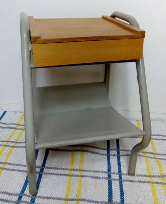 Table De Chevet Style Industriel : table de chevet vintage industrielle ~ Teatrodelosmanantiales.com Idées de Décoration