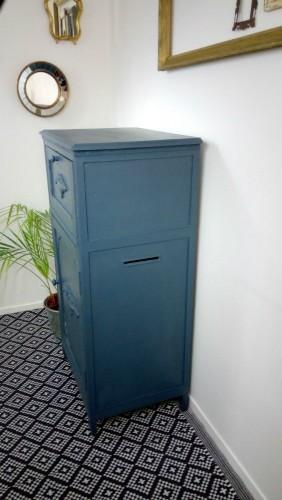 Confiturier ancien meuble d 39 appoint chiffonnier - Meuble confiturier ancien ...