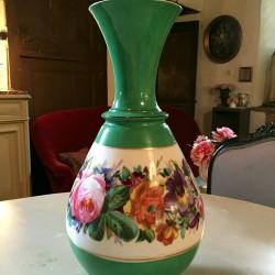 Très grand vase porcelaine XIXe