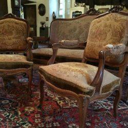 Salon XIXe de style Louis XV