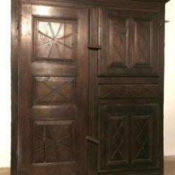 Armoire, meuble de rangement fin XVIIIe