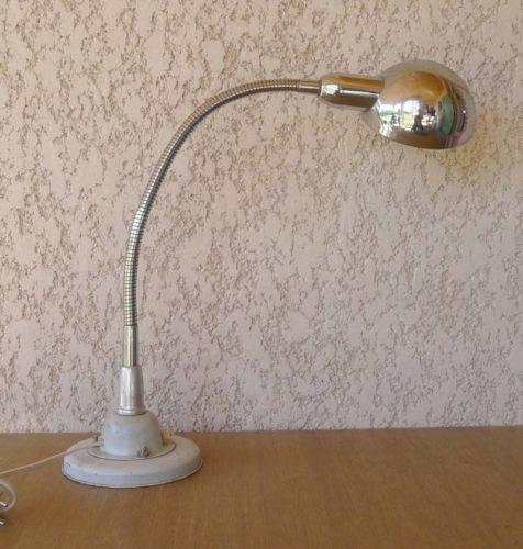 lampe de bureau industrielle ann es 60. Black Bedroom Furniture Sets. Home Design Ideas
