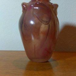 Vase par le Maître Verrier Patrick Lepage, année 1986