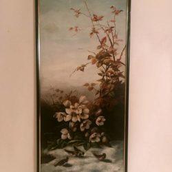 Huile sur toile signée J. Borge 1910