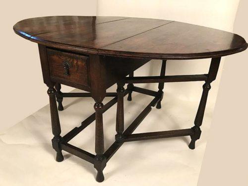Table gateleg XIXe