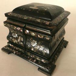 Grand coffret à bijoux Napoleon III