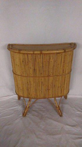 bar vintage en bambou ann es 60 70. Black Bedroom Furniture Sets. Home Design Ideas