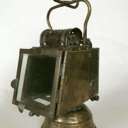 Ancienne lampe des chemins de fer, lanterne