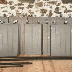 Portes coulissantes style industriel, atelier, loft