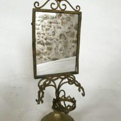 Objet d'autel, bougeoir, miroir, objet d'église