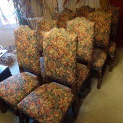 chaises Louis X