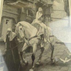GRAVURE DIDIER pour LEFEBVRE LADY GOZILLA 1890