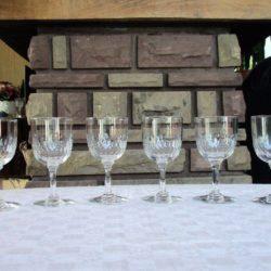 verre cristal non signé