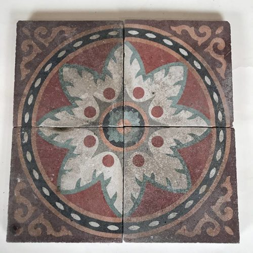 carreaux ciment anciens environ 3 5 m2. Black Bedroom Furniture Sets. Home Design Ideas