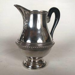 Pot à lait en métal argenté