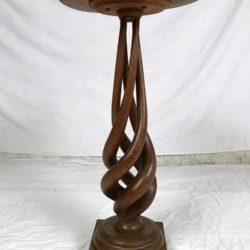 Ancienne sellette bois tourné