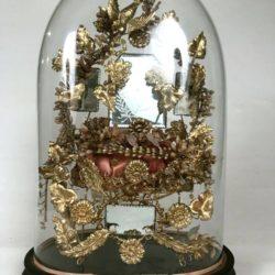 Globe de mariée, époque Napoleon III