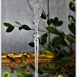 Très rare verre à vin en cristal de Baccarat modèle Tsar 36 cm ! Baccarat crystal Tsar wine glass