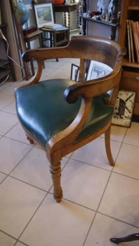 fauteuil de bureau ancien. Black Bedroom Furniture Sets. Home Design Ideas