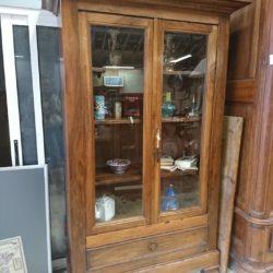 vitrine bibliothèque Louis Philippe