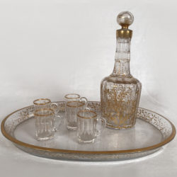 service à liqueur en cristal