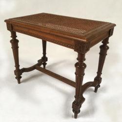 Tabouret ou banquette de piano de style Louis XVI