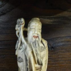 circa époque XIX eme statue originale chine feng shui chinois