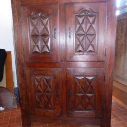 cabinet buffet Louis XIII epoque 4 quatre Portes circa xvii eme siecle