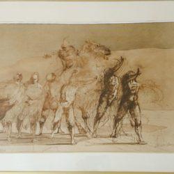 lithographie signée Claude WEISBUCH