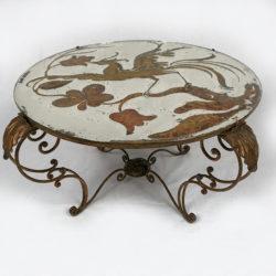 Table basse de style maison Baguès