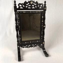 Miroir psyché de table Napoléon III