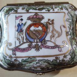 Tabatière porcelaine 19e-001
