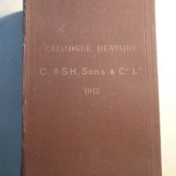 Catalogue dentaire