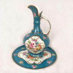 pichet plateau porcelaine